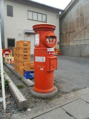 上田市の丸ポスト