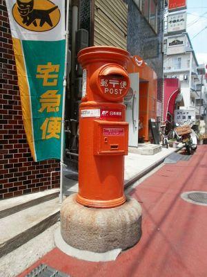長野市の丸ポスト1