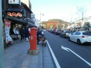 鎌倉市の丸ポスト4