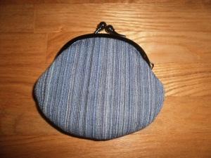 銚子ちぢみの財布