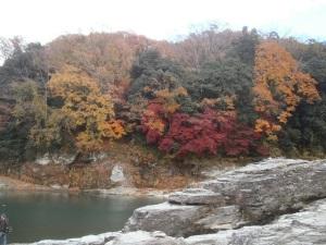 長瀞渓谷「岩畳」