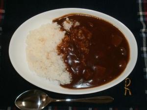 咖喱屋カレー(辛口)